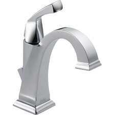 Dryden Single Hole Bathroom Faucet with Diamond Seal Technology with Metal Pop-Up Drain and 3-Hole Cover Plate