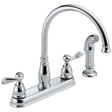 Windemere Double Handle Centerset Kitchen Faucet