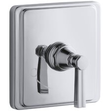 Pinstripe Valve Trim with Lever Handle for Thermostatic Valve, Requires Valve