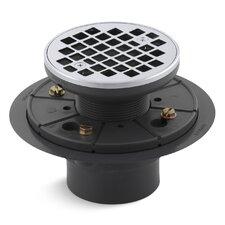 Round Design Tile-In Shower Drain
