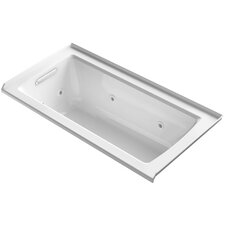 "Archer 60"" x 30"" Alcove Whirlpool with Integral Flange"