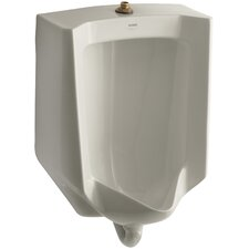 Bardon Washout Wall-Mount High Efficiency 1/8 GPF Urinal with Top Spud