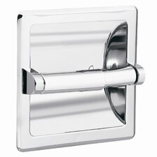 Commercial Recessed Toilet Paper Holder in Polished Chrome