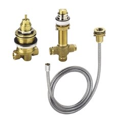 Rough Valve for 3 Hole Thermostatic Trim