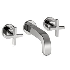 Axor Citterio Two Handle Wall Mounted Tub only faucet