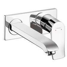 Metris Single Handle Wall Mounted Tub Only Faucet Trim