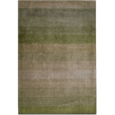 Nostalgia Green Area Rug