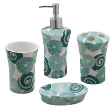 Parasoles 4 Piece Bath Accessory Set