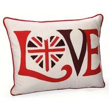 Retro Love Jovi Home Decorative Cotton Throw Pillow