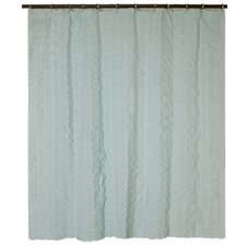 Cotton Waterfalls Shower Curtain