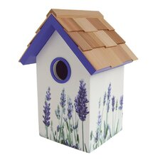 Lavender Mounted Birdhouse