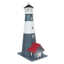 Historic Reproductions Tybee Lighthouse Freestanding Bird House