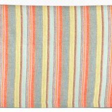 Lyric Stripe Linen Bed Skirt