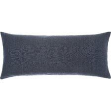Chambray Double Linen Boudoir/Breakfast Pillow