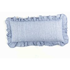 Chambray Savannah Linen Boudoir/Breakfast Pillow