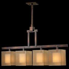 Quadralli 4 Light Chandelier