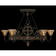 Epicurean 6 Light Island Pendant