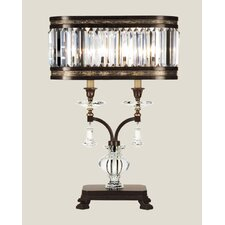 """Eaton Place 31"""" H Table Lamp with Drum Shade"""