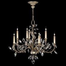 Crystal Laurel 10 Light Chandelier