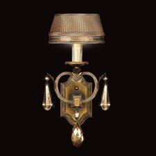 Golden Aura 1 Light Wall Sconce