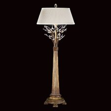 """Crystal Laurel 36"""" H Table Lamp with Empire Shade"""