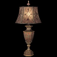 "Villa 1919 37"" H Table Lamp with Bell Shade"