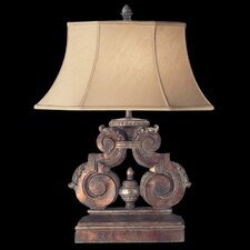"Stile Bellagio 30"" H Table Lamp with Bell Shade"