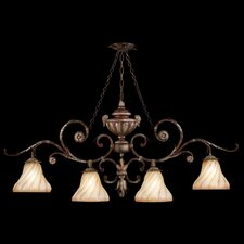 Stile Bellagio 4 Light Kitchen Island Pendant