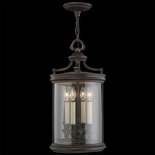 Louvre 4 Light Outdoor Hanging Lantern