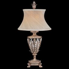 "Winter Palace 33"" H Table Lamp with Bell Shade"