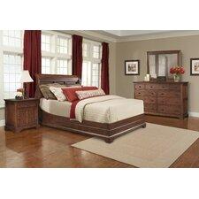 Retreat Cherry Sleigh Customizable Bedroom Set