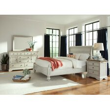 Cottage Storage Sleigh Customizable Bedroom Set