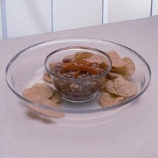 Grainware Necessities 2 Piece Chip and Dip Tray