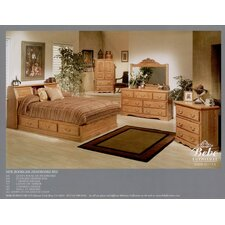 Country Heirloom Platform Customizable Bedroom Set