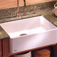 """Manor House 27.625"""" X 19.75"""" Fireclay Apron Front Kitchen Sink"""
