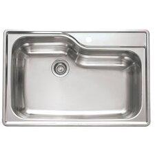 """Prestige 22.25"""" x 19.88"""" Classic Undermount Kitchen Sink"""