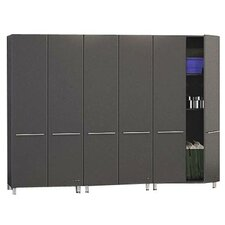 3 Piece Garage 4' H x 7' W x 2' D Tall Storage System