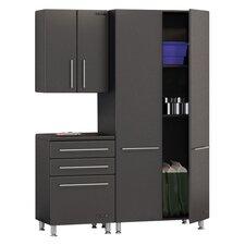 Garage 7' H x 3' W x 2' D 3-Piece Starter Storage System