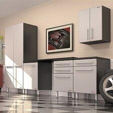 Garage PRO 7' H x 11' W x 2' D 6-Piece Storage System with Workstation