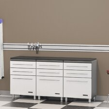 "Ulti-MATE Storage 35"" H x 23.5"" W x 21"" D 3-Drawer Base Cabinet"