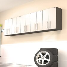 3' H x 10' W x 1' D 5-Piece Wall Cabinet Set