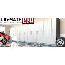 Garage PRO 3' H x 6' W x 2' D 8-Piece Base Cabinet Set