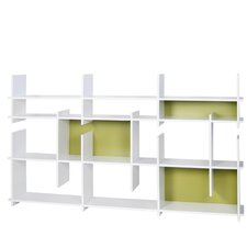 Puzzle Composition 2001-001 79'' Accent Shelves