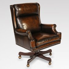 Leather Executive Chair with Arms