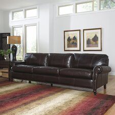 Stockton 4 Seat Leather Sofa