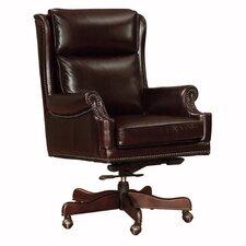 Clinton Mid-Back Leather Executive Chair