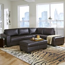Frandis Leather Sectional