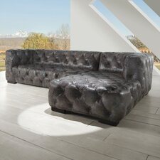 Manhattan Leather Sectional