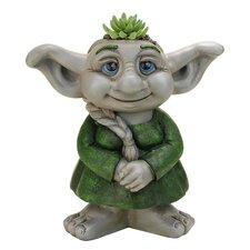 Troll Girl Statue