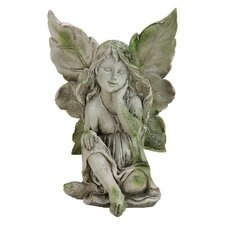 Hand on Chin Fairy Statue